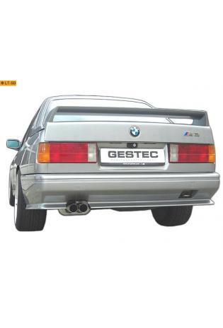 Einzelanfertigung Sportauspuff Für BMW M3 E30 Edelstahl Endschalldämpfer und Vorschalldämpfer