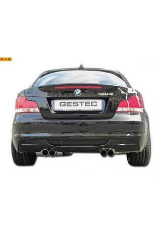 Einzelanfertigung Sportauspuff Für BMW 120d Coupe E82 mit M-Technik Edelstahl Endschalldämpfer