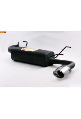 Ulter Sportauspuff 1 x 120x80mm eingerollt - Mazda MX 5 NB ab Bj. 98 1.6l bis 1.8l
