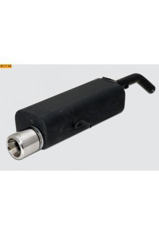 Ulter Sportauspuff 1 x 80mm eingerollt - Citroen C3 ab Bj. 02 1.1l
