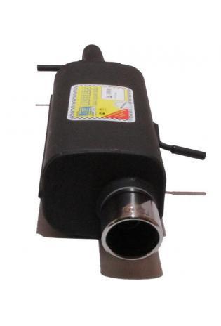Ulter Sportauspuff 1 x 90mm eingerollt - Citroen C3 ab Bj. 02 1.1l