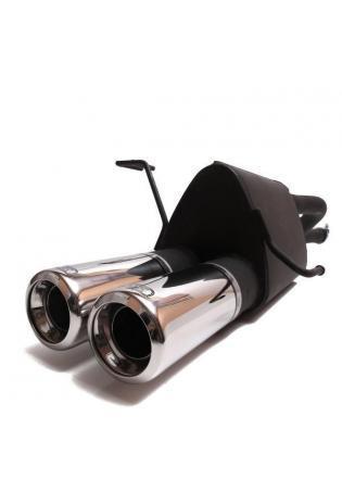ULTER Sportauspuff Fiat Punto Typ 188 Bj. 99-05 1.2l - 2 x 80mm