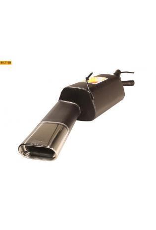 Ulter Sportauspuff 1 x 140x70mm eingerollt - Renault Megane Limousine Stufenheck ab Bj 95 bis 02 1.4l bis 2.0