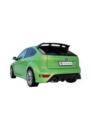 Ford Focus 2 RS ab Bj. 09 2.5l FOX Sportauspuff rechts links je 1 x 129x106mm oval (RohrØ 63.5mm)