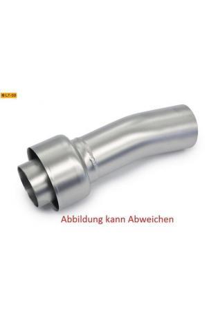 Akrapovic db-Eater Oval VTUV003 aus Edelstahl zum nachrüsten