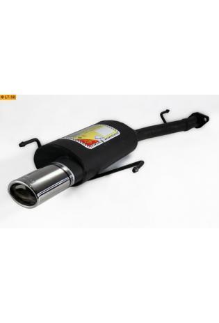 Ulter Sportauspuff 1 x 95x65mm eingerollt - Opel Astra G Fließheck ab 98 bis 03 1.4l bis 2.0l u. 1.7l DTL bis 2.0l DTI