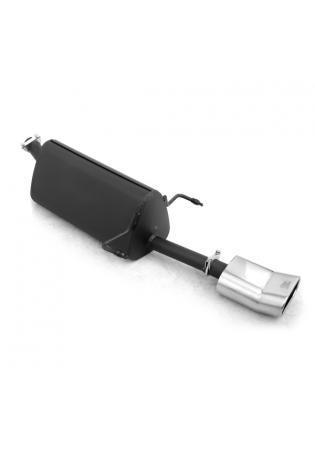 Ulter Sportauspuff 1 x 140x70mm DTM scharfkantig - Opel Astra H Caravan ab 03 1.4l bis 1.8l