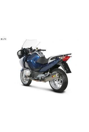 Akrapovic elliptischer Schalldämpfer mit Titan Außenhülle Typ Slip on BMW R 1200 RT ST ab Bj. 10