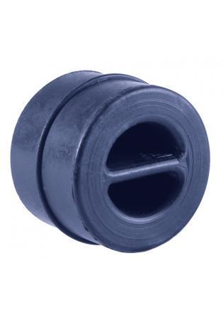 Powersprint Auspuffgummi aus Hochleistungs-Silikon - rund Außen 50 mm