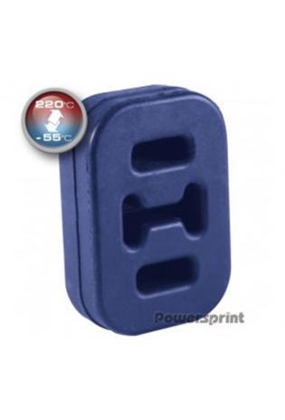 Powersprint Auspuffgummi aus Hochleistungs-Silikon Hitzebeständig bis 220°C - AußenØ 65 x 45 x 16mm