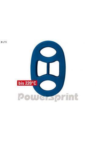 Powersprint Auspuffgummi aus Hochleistungs-Silikon - AußenØ 45 x 70 mm
