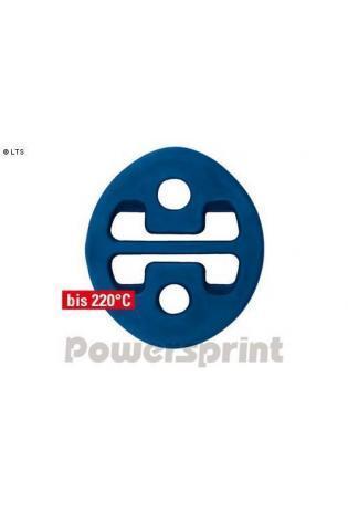 Powersprint Auspuffgummi aus Hochleistungs-Silikon - oval AußenØ 55 x 65 mm