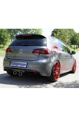 EISENMANN Sportauspuff VW Golf 6R ab Bj. 09 2.0l TSI  2 x 100mm Ausgang mittig