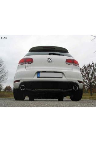 EISENMANN RACE Komplettanlage ab Kat VW Golf 6 Typ 5K0 Limousine 1.4l TSI rechts links je 1 x 102mm