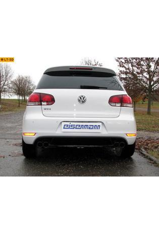 EISENMANN Sportauspuff VW Golf 6 Typ 5K0 Limousine 2.0l GTI rechts links je 2 x 76mm