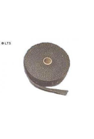 Schwarzes Graphit-Thermoschutzband 25mm (B) x 4,5m (L)
