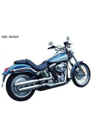 Sebring Endschalldämpfer vorn/hinten silberchrom - Harley Davidson VRSCR Street-Rod ab Bj. 05 und VRSCD Night-Rod Bj. 05-07 und VRSCDX Night-Rod Special Bj 07-08