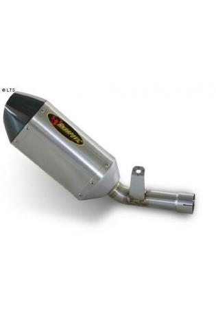 Akrapovic Endschalldämpfer Hexagonal(tief und 180mm) in Titan mit dB-Eater für Suzuki GSXR 600 Bj. 06-07 GSXR 750 Bj. 06-07