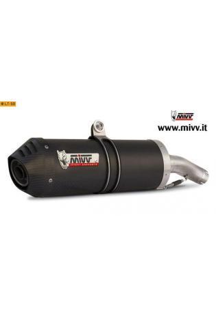 Mivv Sport-Line Oval Carbon Schalldämpfer Slip on für DUCATI MONSTER 400 ab Bj. 97