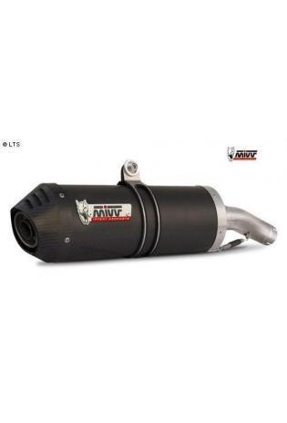 Mivv Sport-Line Oval Carbon Schalldämpfer Slip on für DUCATI MONSTER 620 ab Bj. 02 MONSTER 800 ab Bj. 03