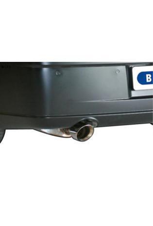 BASTUCK Sportauspuff links Chrysler 300C inkl. AWD Limousine Kombi ab Bj. 04 5.7l  6.1l  - 1 x 100mm (RohrØ 70mm)