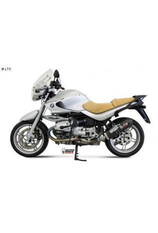 Mivv Sport-Line Oval Carbon Schalldämpfer Slip on für BMW R 1150 R ab Bj. 00