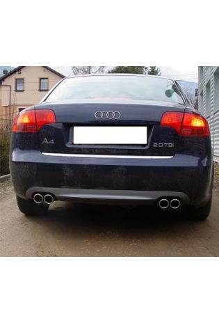 ULTER Sportauspuff Audi A4 Typ 8E B7 Avant u. Limo Bj. 05-08 1.6l  1.8l  2.0l  1.9l TDI  2.0l TDI - rechts links je 2 x 70mm
