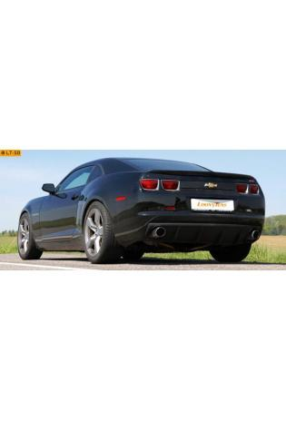Supersprint Endschalldämpfer links 100 mm rund - Chevrolet Camaro SS 6.2i V8 ab 09