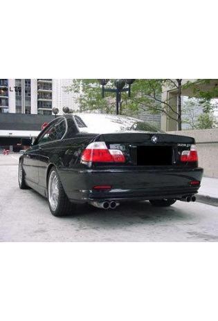 EISENMANN Komplettanlage ab Kat BMW 3er E46 320i  320ci  325i  325ci  330i  330ci (nicht Cabrio) - rechts links je 2 x 70mm poliert RACE VERSION