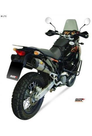 Mivv Sport-Line Suono Full Titan Schalldämpfer Bolt On für KTM LC8 990 ADVENTURE ab Bj. 06