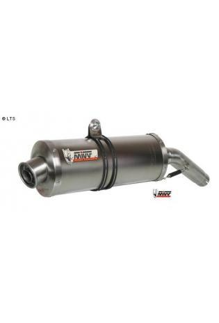 Mivv Sport-Line Oval Titan Schalldämpfer Slip on für MOTO GUZZI GRISO 1100 ab Bj. 06