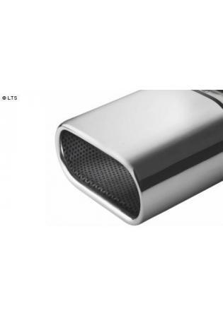 ULTER Sportauspuff Kia Picanto BA 1. Generation 1.1l Bj.  04-11 - 1 x 167x60mm flachoval