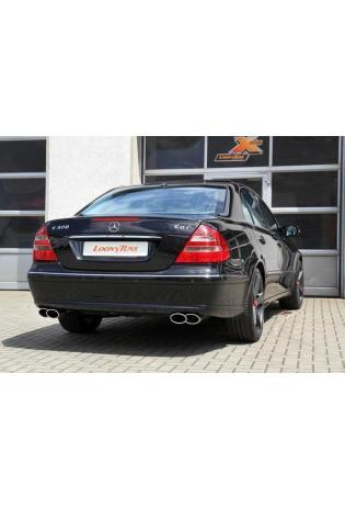ULTER Sportauspuff Mercedes E-Klasse W211 ab Bj. 01 E270 CDI  E320 CDI  Kombi S211 re/li je 220x80mm
