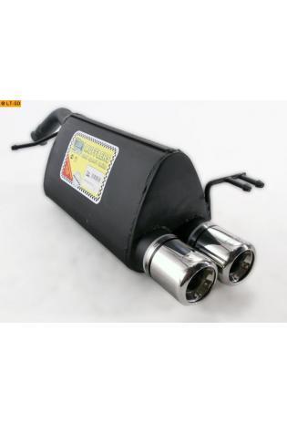 ULTER Sportauspuff Kia Picanto BA 1. Generation 1.1l Bj.  04-11 - 2 x 80mm
