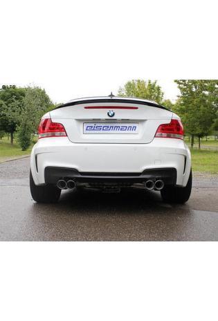 EISENMANN Komplettanlage ab Kat BMW 1er E82 1M Coupe 3.0l - rechts links je 2 x 83mm gerade poliert