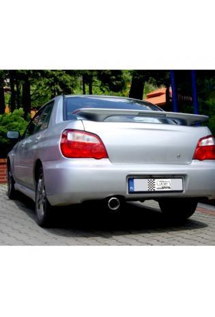 ULTER Edelstahl Sportauspuff Subaru Impreza WRX STI Bj. 00-08 2.0l - 1 x 100mm