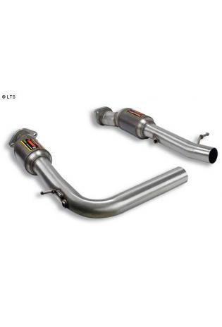 Supersprint Sportauspuff Vorschalldämpfer mit Metall-Kat. - BMW X5 E53 4.4i V8 Bj. 04-06 und 4.8is Bj. 05-06