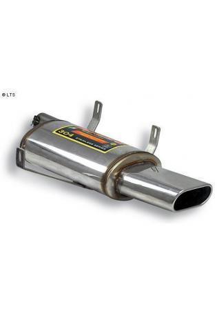 Supersprint RACING-Sportauspuff links 150x70mm - BMW E39 M5 5.0 Bj. 98-04