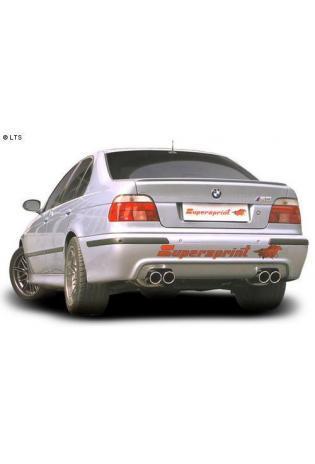 Supersprint Duplex-Racinganlage je 2x90mm inkl. Metall-Kat. - BMW E39 M5 5.0 (LHD) Bj. 98-04