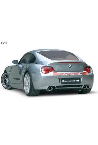 Supersprint Duplex-Komplettanlage 2x80mm mit Metall-Kat. - BMW Z4 M (Roadster und Coupe) 3.2i ab 06