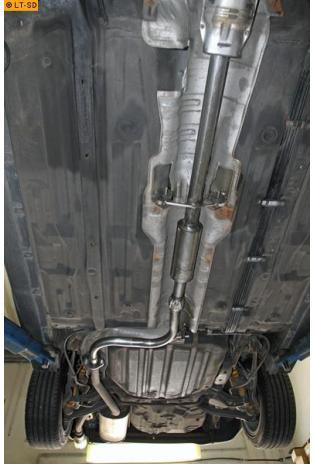 Einzelanfertigung Vorschalldämpfer für Honda Accord 5 Kombi CE2
