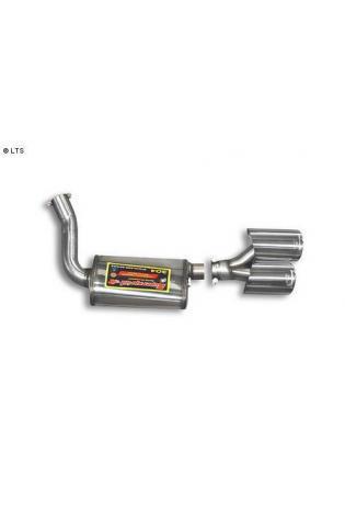 Supersprint Sportauspuff Endschalldämpfer links 2x120x80 - Mercedes C219 CLS 500 V8 ab 04