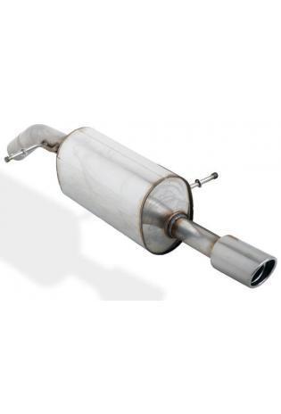 BASTUCK Sportauspuff Citroen C3 u. DS3 1.1l  1.4l  1.6l u. Diesel - 1 x 90mm (RohrØ 63mm)