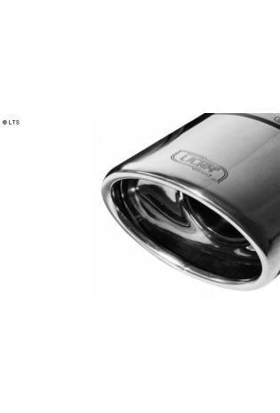 ULTER Sportauspuff Citroen C4 Picasso 1.6l HDI ab Bj. 07 - 1 x 120x80mm oval