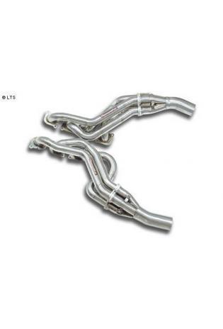 Supersprint Sportauspuff Mercedes W204 C63 AMG V8 ab 07 und C63 Black Series ab Bj. 12 - Fächerkrümmer