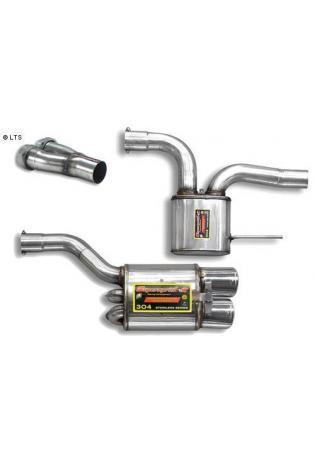Supersprint Sportauspuffanlage ab Kat. 2x 120x80 - Mercedes R170 SLK 32 V6 AMG Bj. 02-03