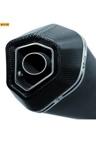 Remus Schalldämpfer Typ HyperCone mit schwarzer Edelstahl Außenhülle ohne Kat. HONDA CBR 1000 RR ab Bj. 12