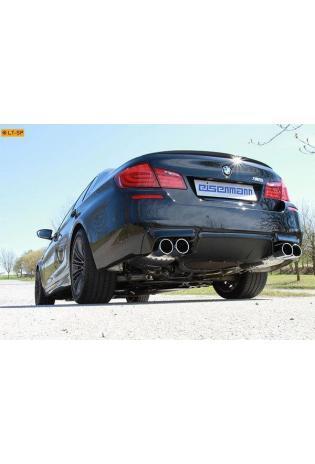 EISENMANN RACING Komplettanlage ab Kat BMW 5er F10 Limousine M5  rechts links je 2 x 90mm