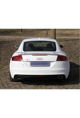 EISENMANN Komplettanlage ab Kat aus Inconel Audi TT RS Coupe Typ 8J 2.5l - ohne Endrohre - leicht und leistungsstark