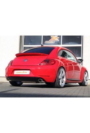 FOX Sportauspuff VW Beetle Typ 16 2.0l ab Bj. 11  je 1 x 115x85mm Porsche Design (RohrØ 70mm)